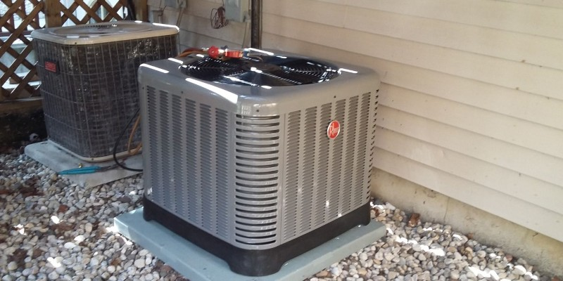 Rheem Air Conditioner Reviews Central Air Conditioner